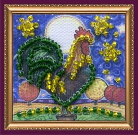 Набор - магнит для вышивки бисером Золотой гребешок  Абрис Арт АММ-040 - 19.00грн.