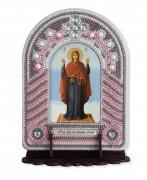 Набор для вышивки иконы с рамкой-киотом Богородица Нерушимая стена
