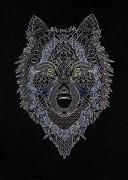 Набор для вышивки крестом Серебряный волк