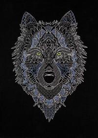 Набор для вышивки крестом Серебряный волк Абрис Арт АН-127 - 230.00грн.