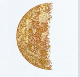 Набор для вышивки бисером Каданс-2 (белый фон) Абрис Арт АВ-774_1 - 250.00грн.
