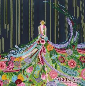 Схема для вышивки бисером Расцвет
