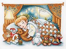 Набор для вышивки крестиком Спокойной ночи Чарiвна мить (Чаривна мить) М-369