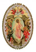 Набор для изготовления подвески Воскресение Христово