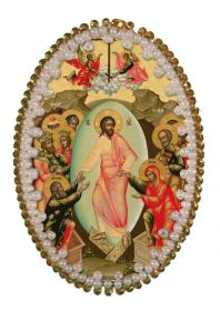 Набор для изготовления подвески Воскресение Христово Zoosapiens РВ3203 - 135.00грн.