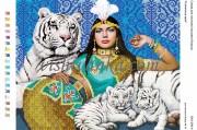 Схема для вышивки бисером на атласе Єгипетська мрія