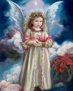 Набор для выкладки алмазной мозаикой Сюрприз от ангела