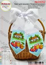 Бант для вышивки бисером (нитками) На праздник спаса Biser-Art В24052