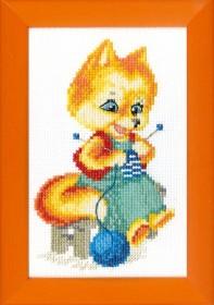 Набор для вышивки крестом Лисичка - рукодельница Cristal Art ВТ-032 - 52.00грн.