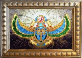 Набор для вышивки бисером на габардине Золотое притяжение, , 332.00грн., НЮ-066, Миледи, Сказочные персонажи