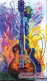 Набор для вышивки бисером на холсте Гитары звуки Абрис Арт АВ-625 - 421.00грн.