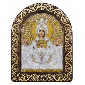 Набор для вышивки икон в рамке-киоте Образ Прсв. Богородицы Неупиваемая чаша