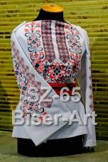 Заготовка для вышивки бисером Сорочка женская Biser-Art Сорочка жіноча SZ-65 (льон)