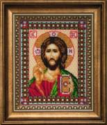 Набор для вышивки бисером Икона Господа Иисуса Христа