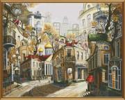 Набор для вышивки крестом Легенды старых улиц