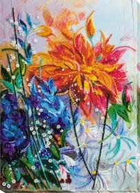 Набір для вишивання бісером на холсті Жар-квітка Абрис Арт АВ-601 - 521.00грн.