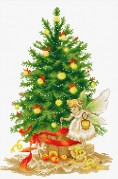 Набор для вышивки крестом Рождественская ёлка