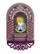 Набор для вышивки иконы с рамкой-киотом Богородица Остробрамская
