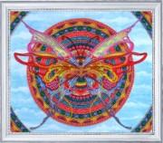 Набор для вышивки бисером Мандала - бабочка