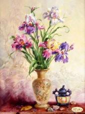 Рисунок на ткани для вышивки бисером Ноктюрн Tela Artis (Тэла Артис) ТК-046