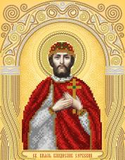 Схема для вышивки бисером на атласе Св. Князь Владислав Сербский