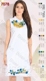 Заготовка женского льняного платья для вышивки бисером Biser-Art Bis7078 - 400.00грн.