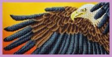 Набор для вышивки бисером Орел Картины бисером Р-332
