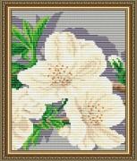 Набор для выкладки алмазной мозаикой Яблоневый цвет Триптих Часть 3