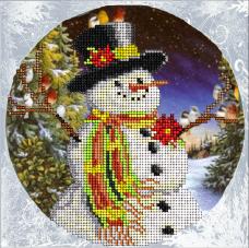Набор для вышивки ювелирным бисером Рождественские истории 11 Краса и творчiсть 10915