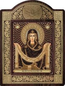Набор для вышивки бисером с рамкой Святой Покров Богородицы