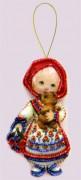 Набор для изготовления куклы из фетра для вышивки бисером Кукла. Россия