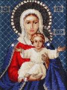 Набор для вышивки крестом Леушинская Богоматерь