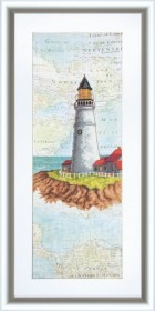 Набор для вышивки крестом Путь домой, , 195.00грн., ВТ-508, Cristal Art, Морская тематика