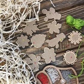 Набор заготовок для вышивания по дереву Волшебная страна FLSW-006 - 210.00грн.