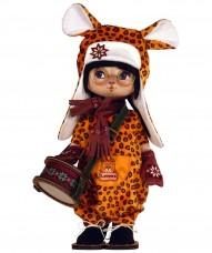 Набор для шитья куклы Леопардик Zoosapiens К1087Z