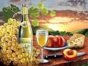 Набор для выкладки алмазной мозаикой Вино Chablis