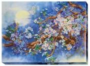 Набор для вышивки бисером на холсте Цветущая ветка