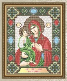 Набор для выкладки алмазной мозаикой Богородица Троеручица  Art Solo АТ5021 - 248.00грн.