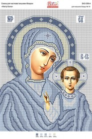 Схема для вышивки бисером на атласе Матір Божа Вишиванка БА3-309 атлас - 50.00грн.