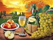 Набор для выкладки алмазной мозаикой Вино Soave