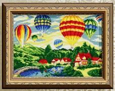 Алмазная мозаика Воздушные шары Art Solo АТ3037