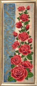 Набор для вышивки бисером Панно с розами