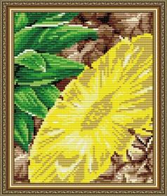 Набор для выкладки алмазной мозаикой Ананас, , 280.00грн., АТ5570, Art Solo, Натюрморты