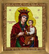 Набор для вышивки ювелирным бисером Икона Скоропослушница грешных