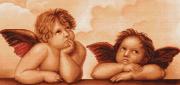 Набор для вышивки крестом Ангелочки