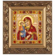 Набор для вышивки бисером Богородица Троеручница Новая Слобода (Нова слобода) Д6007