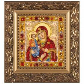Набор для вышивки бисером Богородица Троеручница