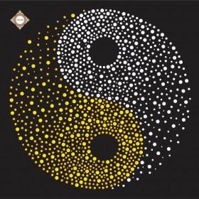 Схема вышивки бисером на атласе Единство Инь-Янь, , 87.00грн., СЛ-3338, Миледи, Рисунки на ткани для вышивки бисером Веселые картинки