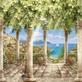 Набор для выкладки алмазной мозаикой Греческий остров