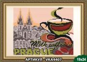 Рисунок на ткани для вышивки бисером В Праге